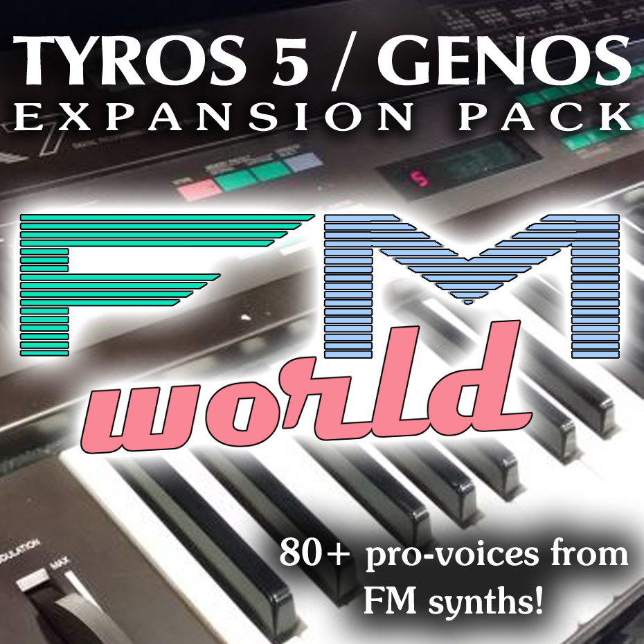 FM WORLD Expansion Pack - Sound and Styles