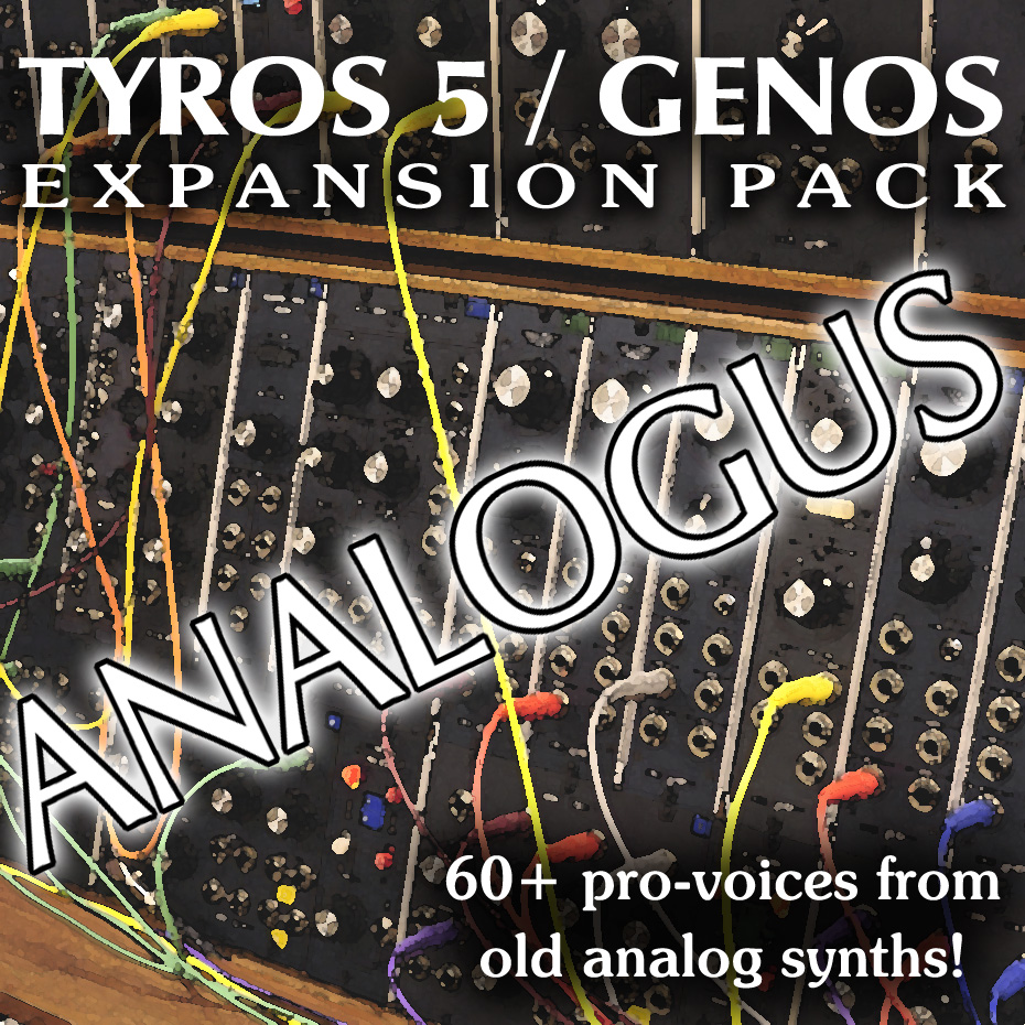 ANALOGUS Expansion Pack - Sound and Styles