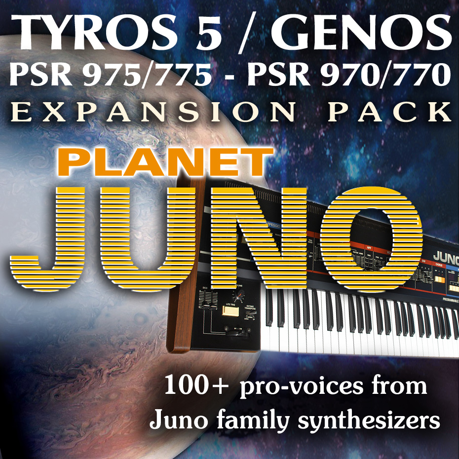 Planet JUNO Expansion Pack - Sound and Styles